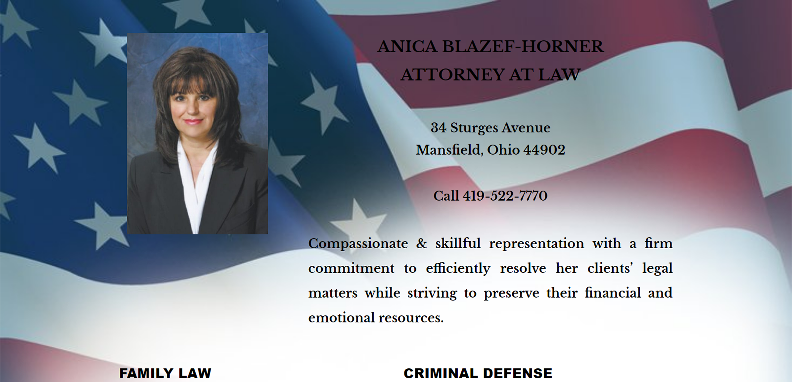 Blazef-Horner Attorney at Law