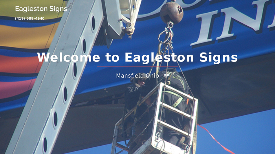 Eagleston Signs Mansfield Ohio