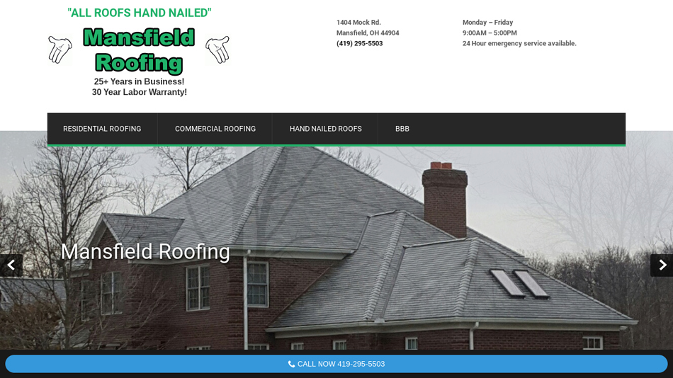 Mansfield Roofing