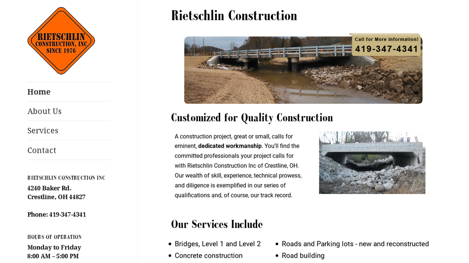 Rietschlin Construction Inc.